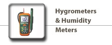 Hygrometers & Humidity Meters