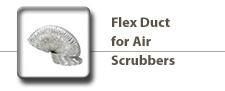 Flex Duct for Air Scrubbers