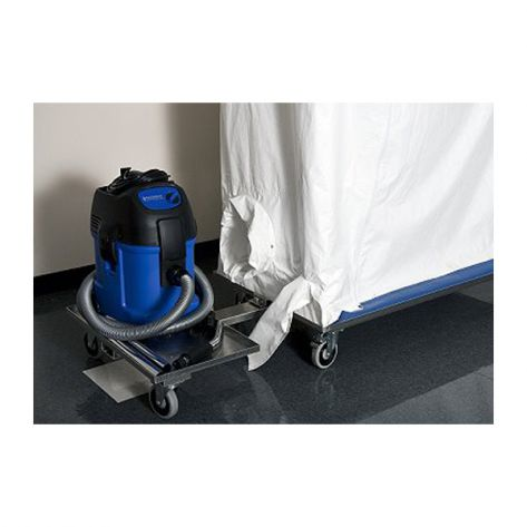 Abatement Technologies AG-Caddy Optional Attachable Cart for Air Scrubber, HEPA Vac