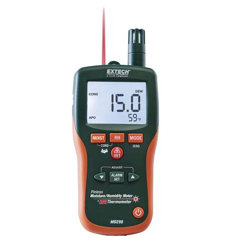 Extech MO290 8-in-1 Meter with Built-in IR Thermometer