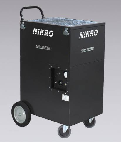 Nikro Industries UA2005 Upright Air Scrubber