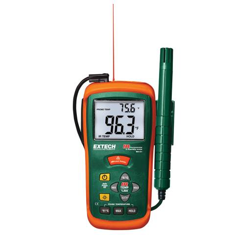Extech RH101 Hygro-Thermometer + InfraRed  Thermometer