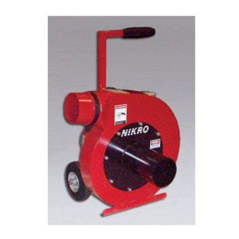Nikro Industries INSUL10 10 HP Insulation Removal Vacuum