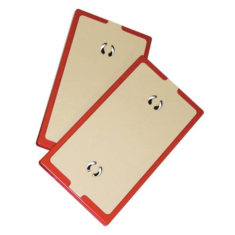 ZipWall® NSP2 Non-Skid Plate - 2 Pack