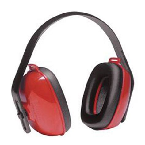 Howard Leight® QM24HW QM24+® Earmuffs, NRR 25, Red/Black