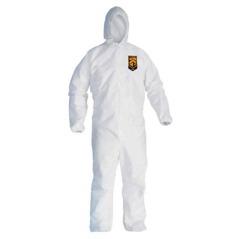 KleenGuard™ 49113 A20 Breathable Particle Protection Coveralls - L