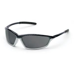 MCR SH152AFC Shock™ Safety Glasses (Carbon/Silver Frame; Gray, Anti-Fog Lens)