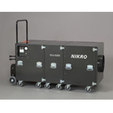 Nikro Industries EC5000-22050 5000 CFM Free Air Duct Cleaning System (220V/50HZ)