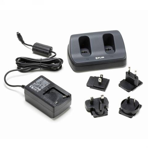 Flir T198125 2-Bay Battery Charger