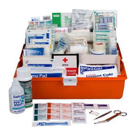 First Aid Only FA504F 269-Piece Response First Aid Kit
