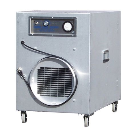 Omnitec Design OA2000V OmniAire Negative Air Machine
