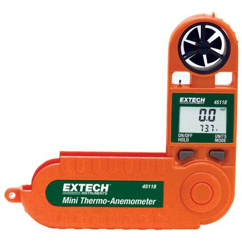 Extech 45118 Waterproof pocket size with Air Velocity, Temperature and Windchill