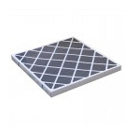 "Omnitec Design OG1212 OdorGuard 600 Carbon Web Filter, Medium Duty - 12"" x 12"" x 2"""