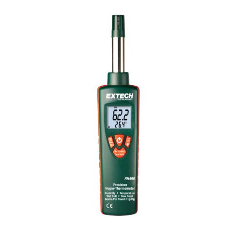 Extech RH490-NIST Precision Hygro-Thermometer