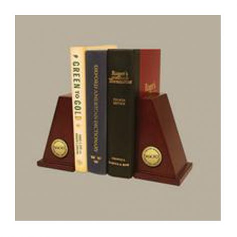 Church Hill Classics 138364 Gold Engraved Medallion Bookends