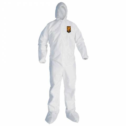 KleenGuard™ 46123 A30 Breathable Splash and Particle Protection Coveralls - L