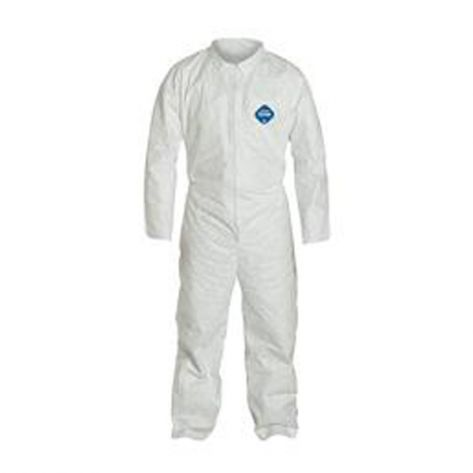 Dupont™ TY120SWH5X002500DP TY120S WH Tyvek® Coverall, 5XL, 25/Case