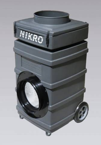 Nikro Industries PS1000 Upright Poly Air Scrubber