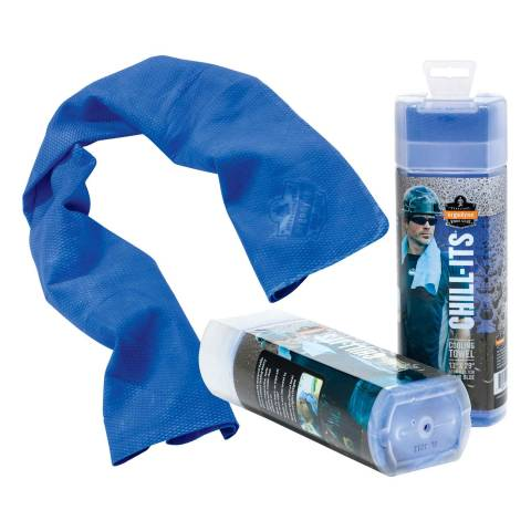 Ergodyne® 12436EG 6602 Chill-Its® Evaporative Cooling Towel - Blue