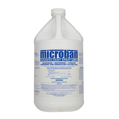 Microban UNS221522000 Disinfectant Spray - 4 Gal/Case