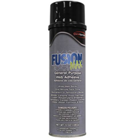 QuestSpecialty® 585001QC Fusion Max Heavy-Duty Pressure Sensitive Spray Adhesive