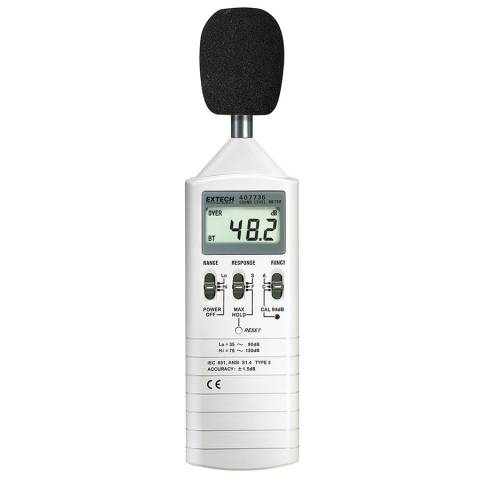 Extech 407736 Dual Range Sound Level Meter