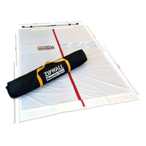 Zipwall® MDK Magnetic Dust Barrier Door Kit