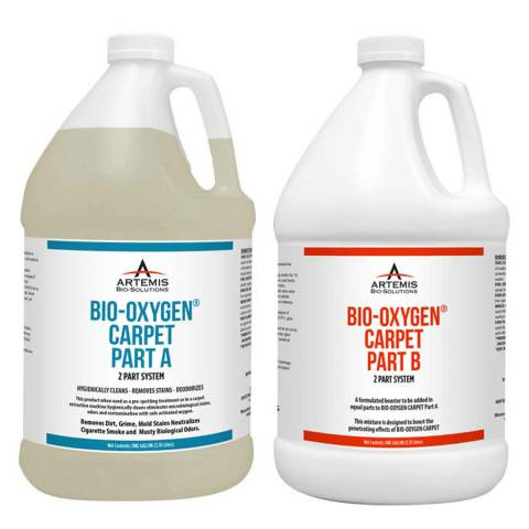Artemis Bio-Solutions ABOCG4 Bio-Oxygen® Carpet - 4 One Gallon Jugs 2A/2B