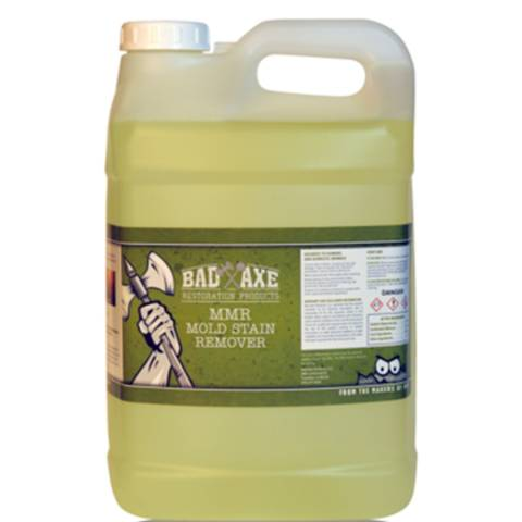 Bad Axe MMR Mold Stain Remover - 2 1/2 Gal, 2/Case