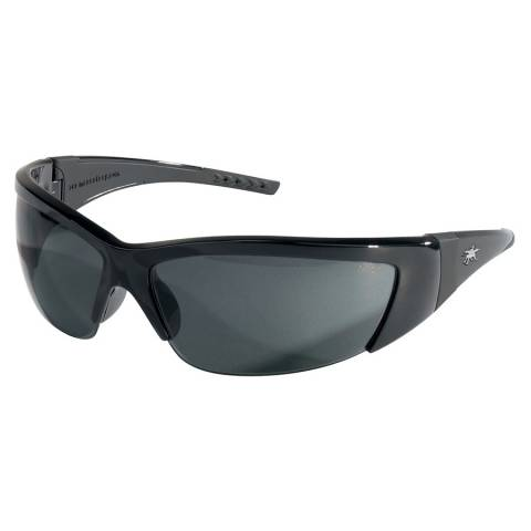 MCR FF212 ForceFlex® - Opague Black Frame, Gray Lens