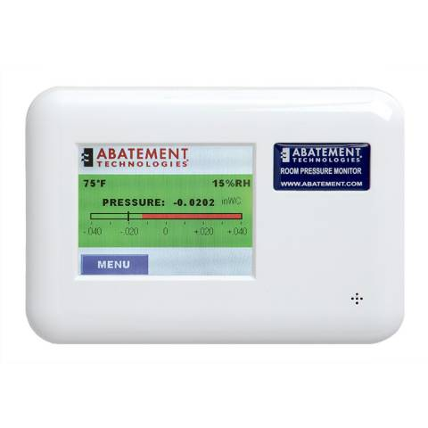 Abatement RPM-RT2 Dual Room Pressure Monitor