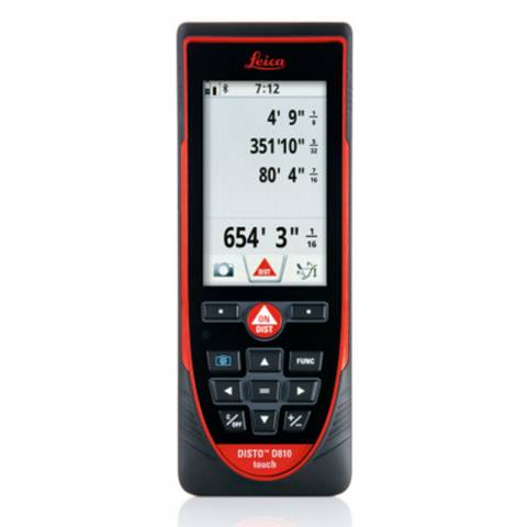 Leica D810 DISTO™ Touch Laser Distance Meter