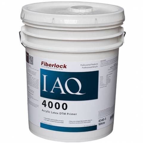 Fiberlock IAQ 4000 Direct to Metal Primer - White - 5 Gal