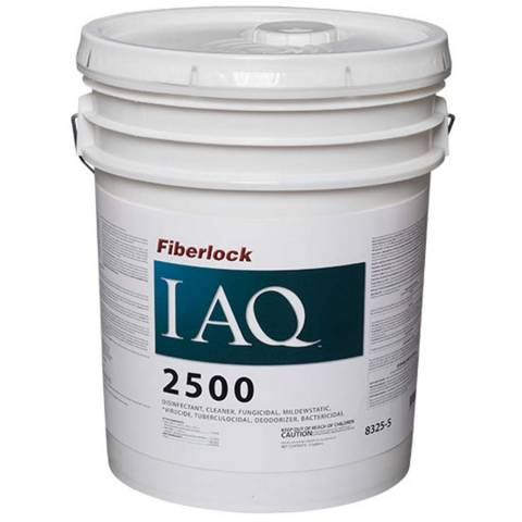 Fiberlock IAQ 2500 Ready To Use Disinfectant - 5 Gal