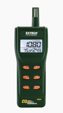 Extech CO250 Portable Indoor Air Quality CO2 Meter