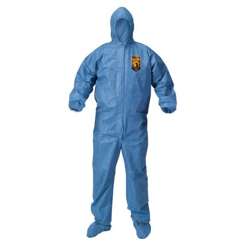 Kleenguard™ 45097 A60 Bloodborne Pathogen & Chemical Splash Protection Coveralls -4XL