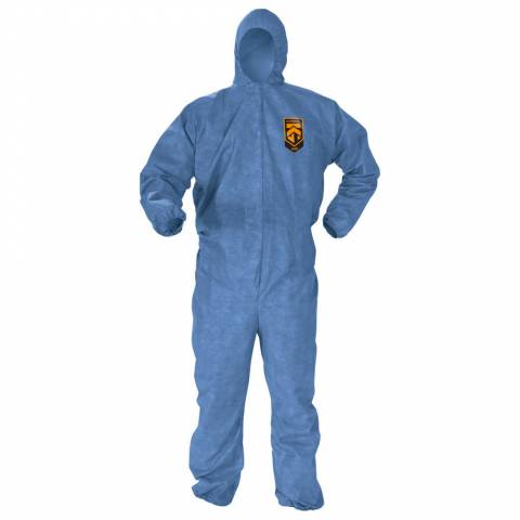 Kleenguard™ 45023 A60 Bloodborne Pathogen & Chemical Splash Protection Coveralls - L