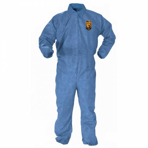 Kleenguard™ 45003 A60 Bloodborne Pathogen & Chemical Splash Protection Coveralls - L