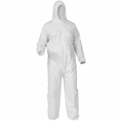 KleenGuard™ 38937 A35 Breathable Liquid and Particle Protection Coveralls - M