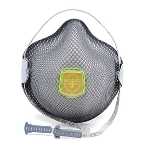 Moldex 2840R95 Plus Relief From Organic Vapors Series Particulate Respirators With HandyStrap® & Ventex® Valve