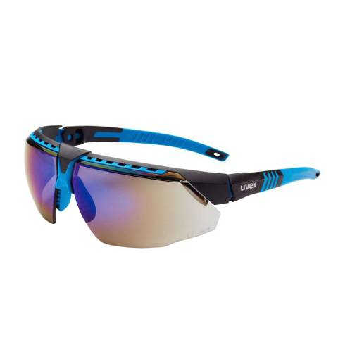 Honeywell S2881 Avatar™ OTG Safety Glasses, Polycarbonate/Anti-Reflective, Anti-Fogging Lens, Teal Frame