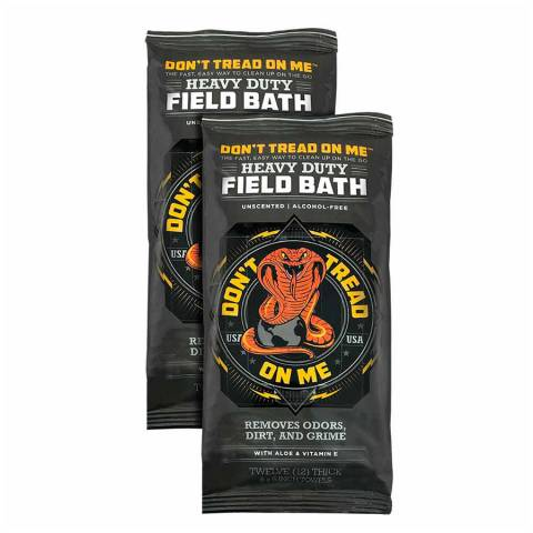 Artemis AFWML20 Don't Tread On Me Field Wipes - Case of 20/12 Packs