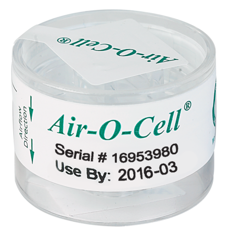 Zefon ACO050 Air-O-Cell Cassettes - 50/Pack