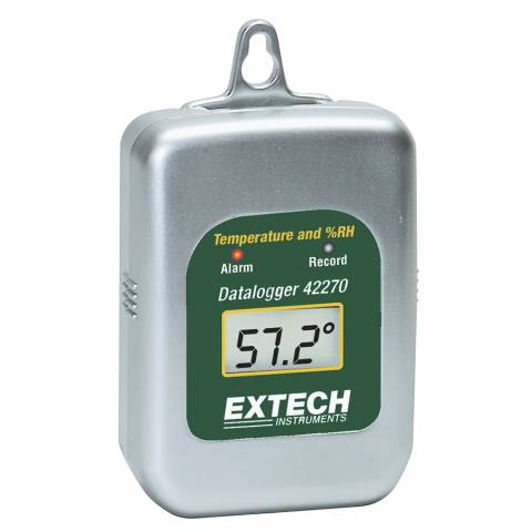 Extech 42270 Temperature/Humidity Datalogger for 42275