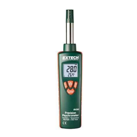 Extech RH390 Precision Hygro-Thermometer Psychrometer