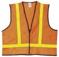 MCR VA221R Class 2 Solid Polyester Safety Vest