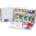 First Aid Only 2450PAC 2-Shelf, 75-Person First Aid Station w/ 8-Pocket Liner