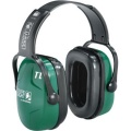 Howard Leight® 1011602HW Thunder® Earmuffs, T2H Cap Mount, NRR 25, Dark Green/Black