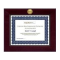 Church Hill Classics 202906 Century Gold Engraved Certificate Frame in Cordova