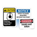 Personal Protection & Fall Hazard Signs